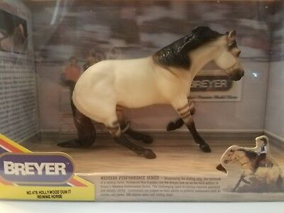 Classic Edition Breyer Horse Hollywood Dun it Reining Horse #478 NIB