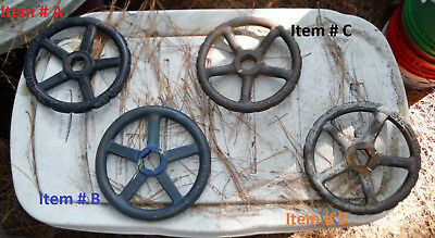 Choose Pick One . Valve Wheel for Steam Punk or Repurpose Project