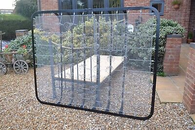 5ft king size folding sprung base ideal for Antique Victorian brass & iron bed