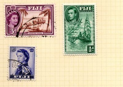 Stamps Fiji 3 stamps F/VF hinged