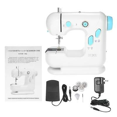 Anself 2 Speed Mini Electric Household Sewing Machine with Light V1R3
