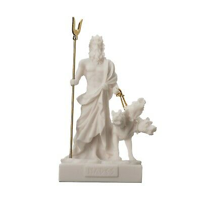 Pluto Hades Lord of the Underworld Greek Statue Dead Figurine Museum 5.1""