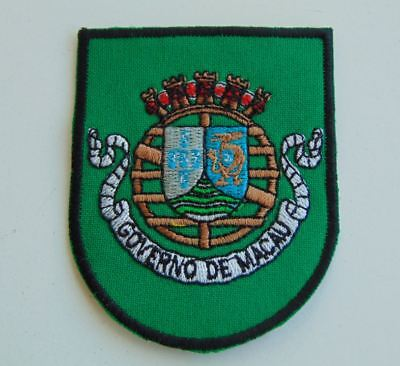 Portugal Portuguese Military Colonial Government Macau Patch