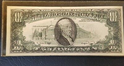 OFFSET PRINTING  ERROR 1988-A $10 Ten Dollar Federal Reserve Note UNCIRCULATED
