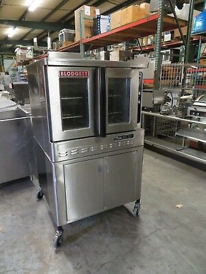Blodgett DFG-100 Gas Convection Oven, Very Good Condition, RARE LOWER STORAGE
