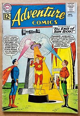 ADVENTURE COMICS #302 (1962) DC Silver Age Superboy, Legion of Super-Heroes; VG