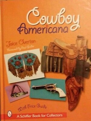 Cowboy Memorabilia $$ Guide Collector's Book H.b. Color Pics