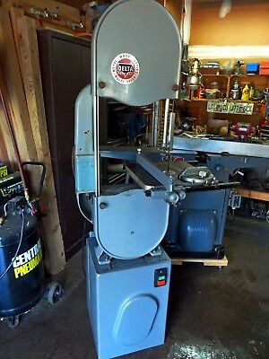 Delta Band Saw 14 inch with Riser Kit - Shipping Assistance Available