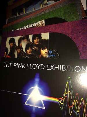 Pink Floyd Exhibition 16 Album Cover Postcard Set Exclusive to V&A Exhibition