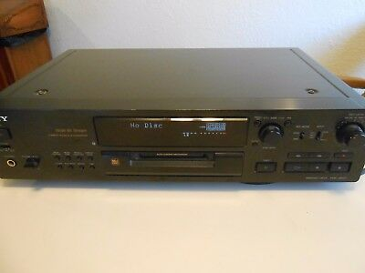 Sony MDS-JB920 Minidisc  Deck with Remote Mini Disk Disc