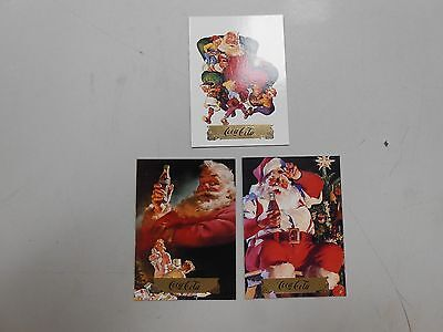 1994 Coca-Cola Collect-A-Card Santa card lot! S14,S16, and S20! NM/MN! LOOK!