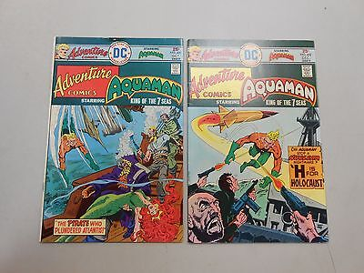 Adventure Comics lot of 2! 441, and 442! (1975, DC)! FN6.5 and FN/VF 7.0+! LOOK!