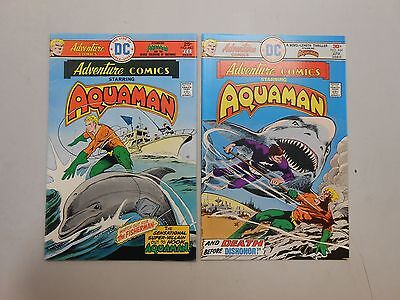 Adventure Comics lot of 2! #'s 443 and 444! (1976, DC)! FN/VF7.0 and VF8.0! LOOK