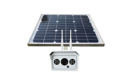 ECO Solar Power SIM Card Wireless WiFi Camera 1280*720HD Night Support 4G