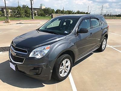 2011 Chevrolet Equinox LS 2011 Chevy Equinox, Low Mileage, One Owner, Clean