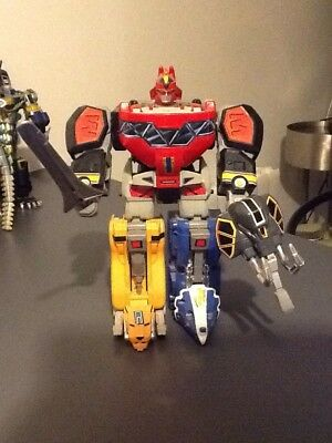 power rangers mighty morphin Original Dino Megazord - Complet - Bandai - 1991