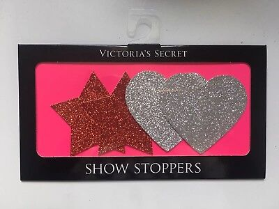 Victoria Secrets Heart and Star Pasties (Areola Cover)