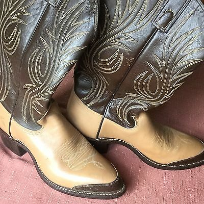 texas style ladies western boots size 8 d