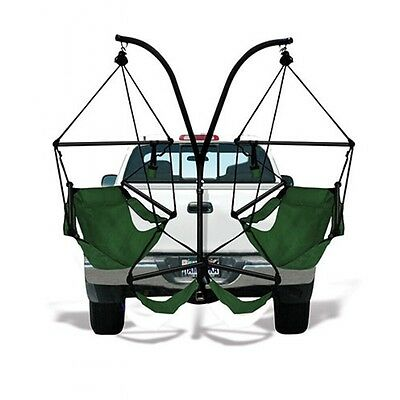 Hammaka Trailer Hitch Stand+Hanging Hammock Chairs With Aluminium Dowels Combo