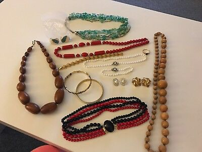 vintage costume jewellery Mixed Lot (192 Bag 2)