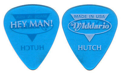 BONNIE RAITT Guitar Pick : 1990s Tour - Hey Man Hutch Hutchinson D'Addario blue