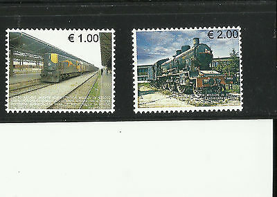 Kosovo, Early Issue Locomotives 2007 Mint Never Hinged