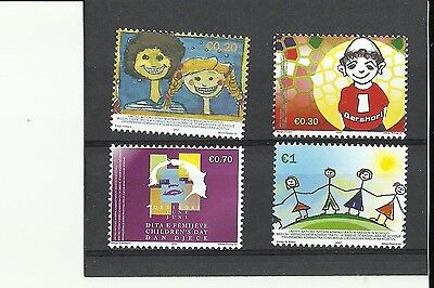 Kosovo, Early Issue Intl. Children's Day 2007 Mint Never Hinged