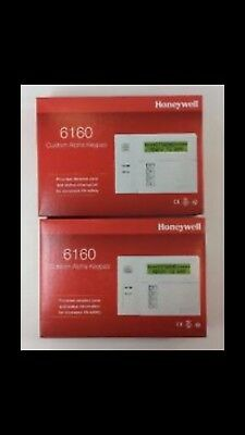 Honeywell 6160 Custom Alpha Keypad Security Alarm