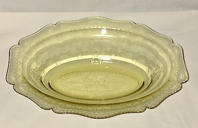 """Federal PATRICIAN AMBER * 10"""" OVAL VEGETABLE BOWL*"""