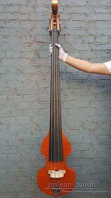 New 3/4 Upright Double bass flame maple Powerful Sound Solid wood #1439