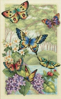 Butterfly Forest - Cross Stitch Chart - Free Post