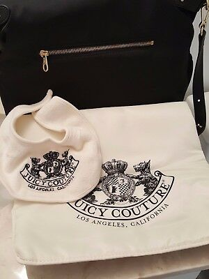 - 100% Authentic Juicy Couture Nylon Diaper Bag With Accessories $$$$