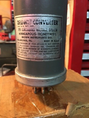 Honeywell-Brown Amplifier Converter, used.