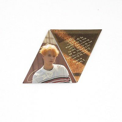 [GOT7]7 for 7 version Official Triangle Photocard-YUGYEOM/7 for 7/You Are/7for7