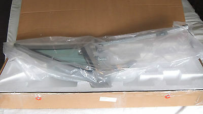 Vent Window Assembly Passenger Side Green Tinted Glass for 1968 Mustang & Cougar