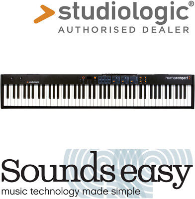 Studiologic numacompact 2 88 Note Stage Piano MIDI Controller Keyboard