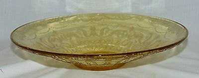 "Federal MADRID AMBER * 11"" LOW CONSOLE BOWL*"