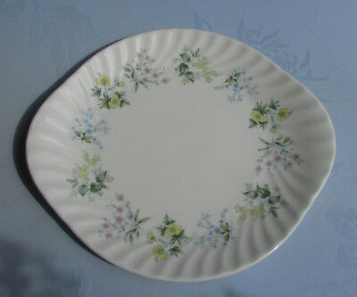 Stunning Vinttage Minton Bone China Plate Spring Valley
