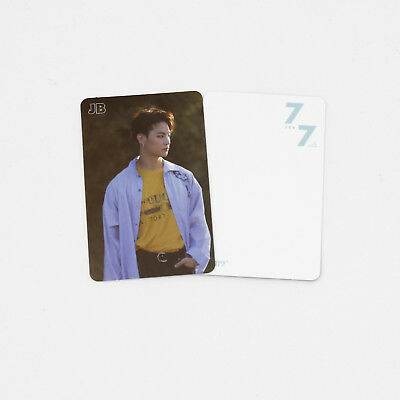 [GOT7]Official Photocard-JB/Making version/7 for 7/You Are/7for7