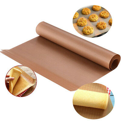 2Pcs/Pack Kitchen Copper Chef Grill and Bake Mats Outdoor BBQ Barbecue Tools