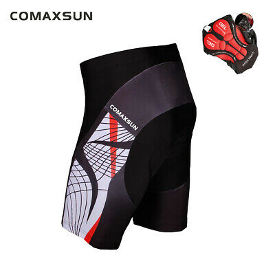 EOC Men's Cycling Shorts 3D Gel Padded Bike Bicycle Sports Tight S-3XL 6 Style