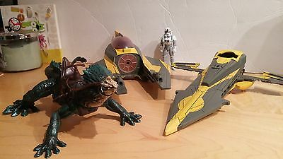 Star Wars Jedi Fighter and Riding Lizard for sale