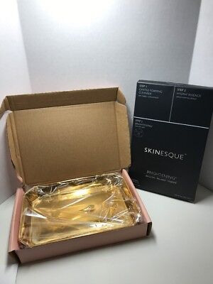 Rachel Xoe Box Of Style Gold Catch All & Skinesque Masks