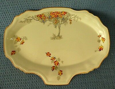 Vintage antique Alfred Meakin plate Astoria English porcelain Autumn England