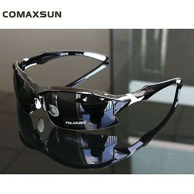 COMAXSUN Polarized Cycling Glasses Bike Goggles Fishing Driving Sunglasses UV400