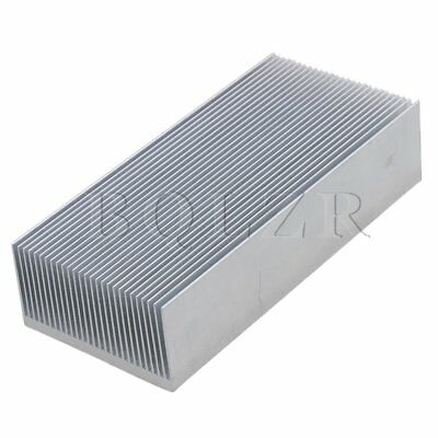 15x6.9x3.6cm Aluminium Heat Sink Heatsink Radiation Cooling Fin Silver