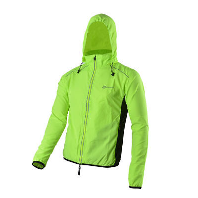 RockBros Bike Outdoor Cycling Coat Long Sleeve Long Jersey Wind Coat Green