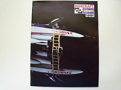 Minicraft / Hasegawa - 1981 Model Catalog - Planes - Military - Guns