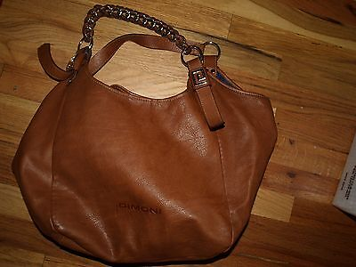 Woman's leather bag DIMONI Size L made in SPAIN
