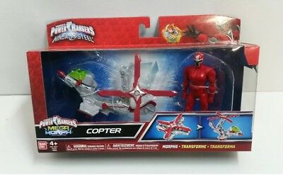 Power Rangers Ninja Steel Mega Morph Copter NEW FREE EXPRESS POST SAME DAY DELIV